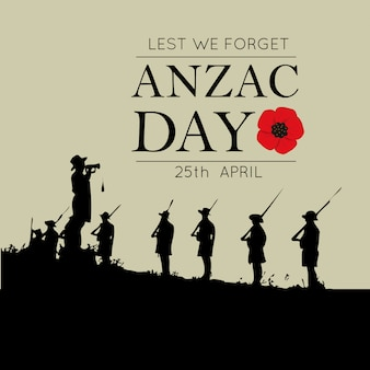 Papavero di carta decorativa per anzac day