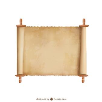 Papiro vettore sfondo