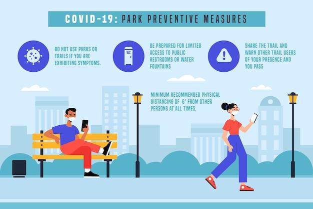 Parcheggiare misure preventive