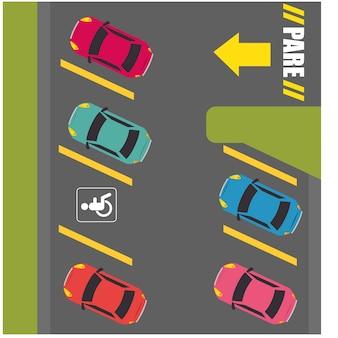 Parcheggio o area di parcheggio