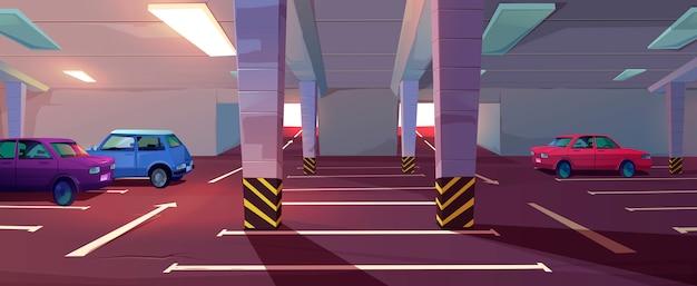 Parcheggio sotterraneo, garage sotterraneo