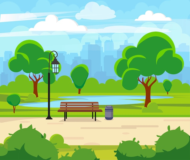 Parco estivo cittadino