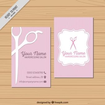 Parrucchiere visit card