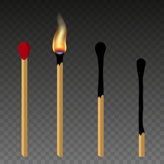 Partite, partita illuminata e partita bruciata