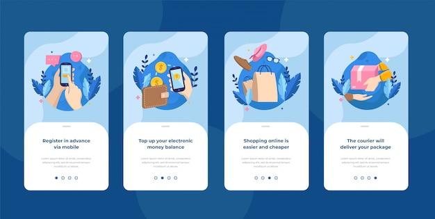 Passaggi per registrarsi sull'applicazione mobile del negozio online