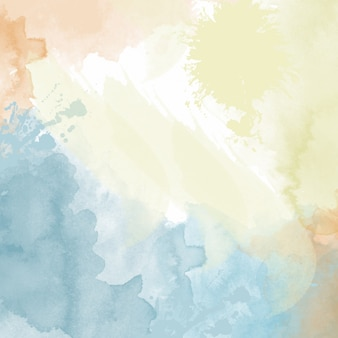 Pastello sfondo acquerello