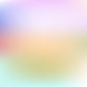 Pastello sfondo colorato con pois morbide