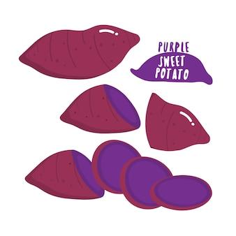 Patata dolce viola