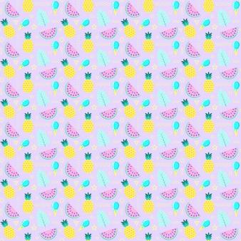 Pattern con frutti