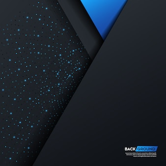 Pattern di sfondo astratto blu scuro