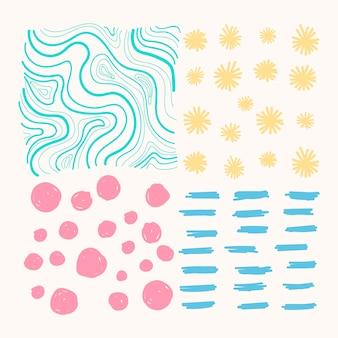 Pattern di sfondo misti