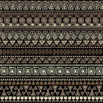 Pattern etnico tribale senza soluzione di continuità