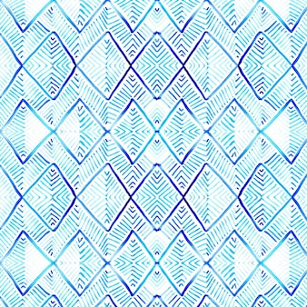 Pattern tribal acquarello