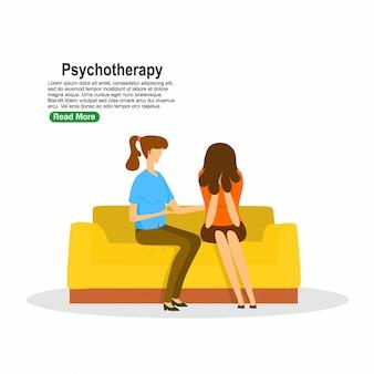 Paziente in consulenza psichiatrica