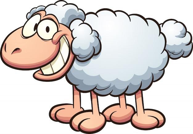 Pecore di cartone animato