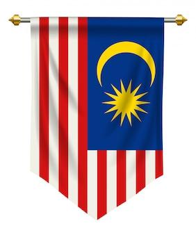 Pennant della malesia