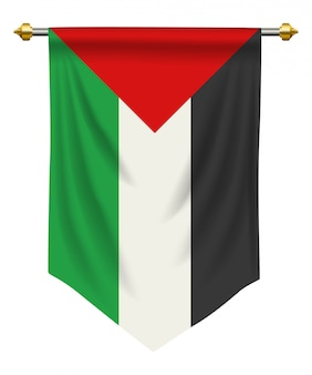 Pennant della palestina