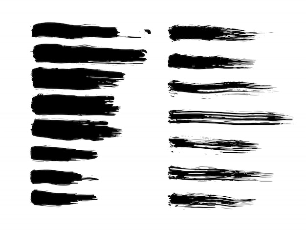 Pennellate di inchiostro