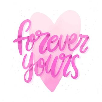 Per sempre le tue lettere di nozze