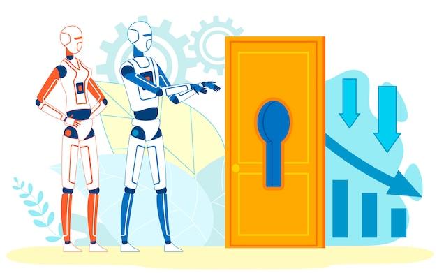 Perdita aziendale analizzata dall'algoritmo deep learning