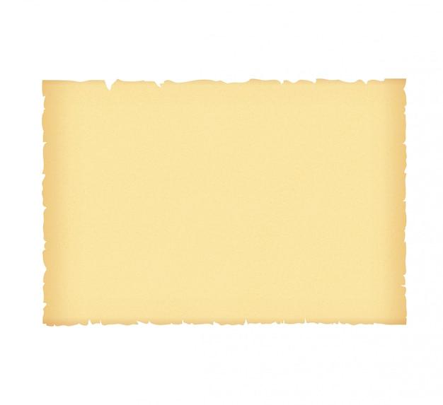 Pergamena o vecchia carta con grano.