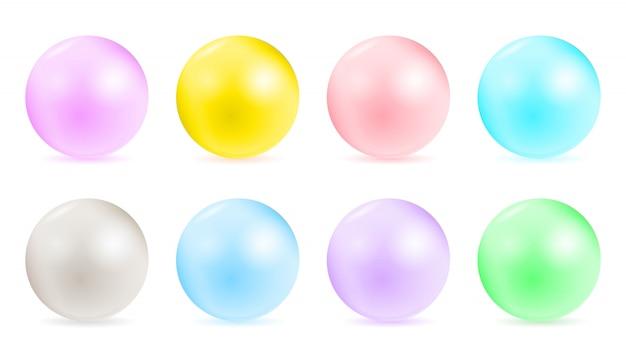 Perle glamour perla, modelli di collana.
