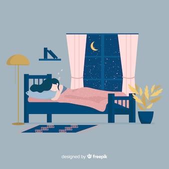 Persona che dorme