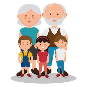 Personaggi avatar personaggi della famiglia
