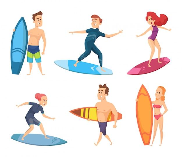 Personaggi da surf