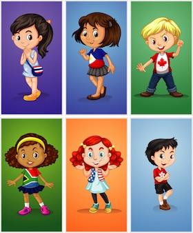 Personaggi dei bambini