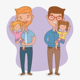 Personaggi di padri e figlie