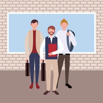 Personaggi di uomini d'affari