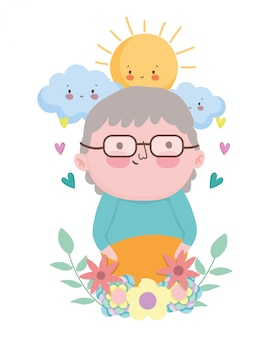 Personaggio dei cartoni animati del nonno