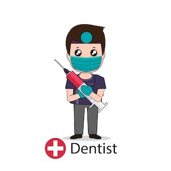 Personaggio dei cartoni animati di dentista
