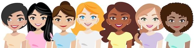 Personaggio dei cartoni animati donna