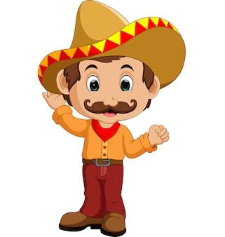 Personaggio dei cartoni animati messicano