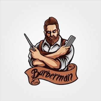 Personaggio di barbiere