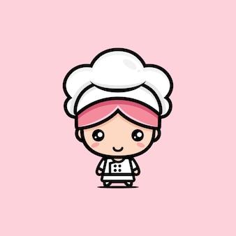 Personaggio simpatico chef
