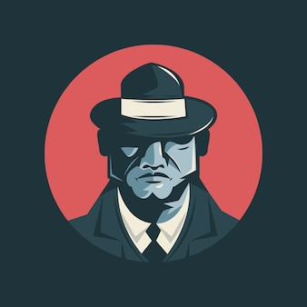 Personaggio vecchio mafioso