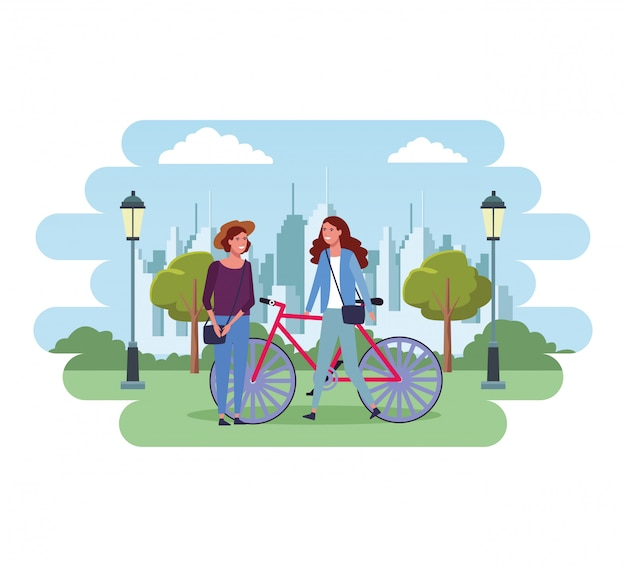 Persone al parco