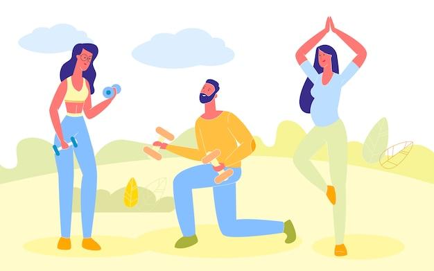 Persone che fanno esercizi sportivi, yoga ragazza incinta