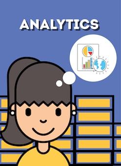 Persone di business analytics