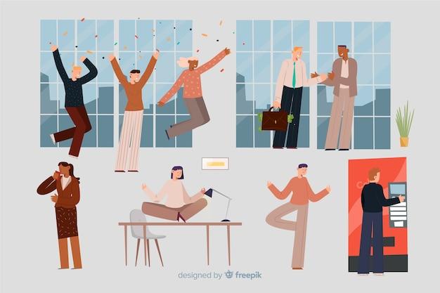 Persone in ufficio