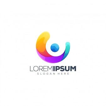 Persone logo design vettoriale