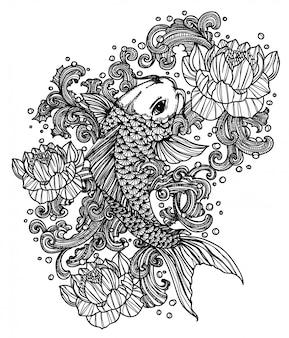 Pesce tatuaggio