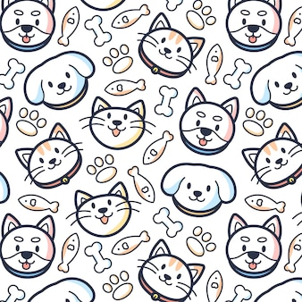 Pet pattern background