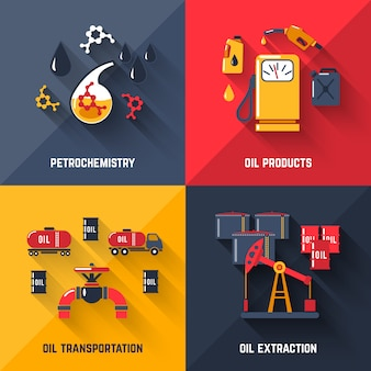 Petroleum design concept set