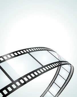 Pezzo di illustrazione trasparente del film del rotolo