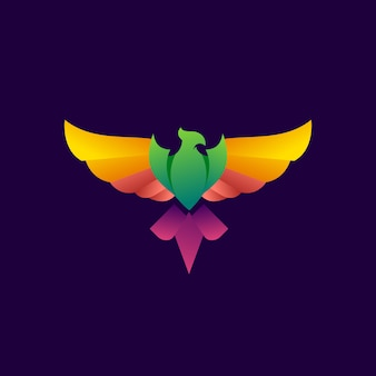 Phoenix logo moderno