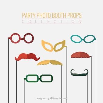 Photo booth partito puntelli collezione